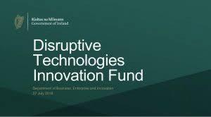 Call II – Disruptive Technology Innovation Fund