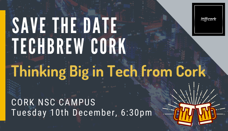 TechBrew Cork – Save the date 10th December