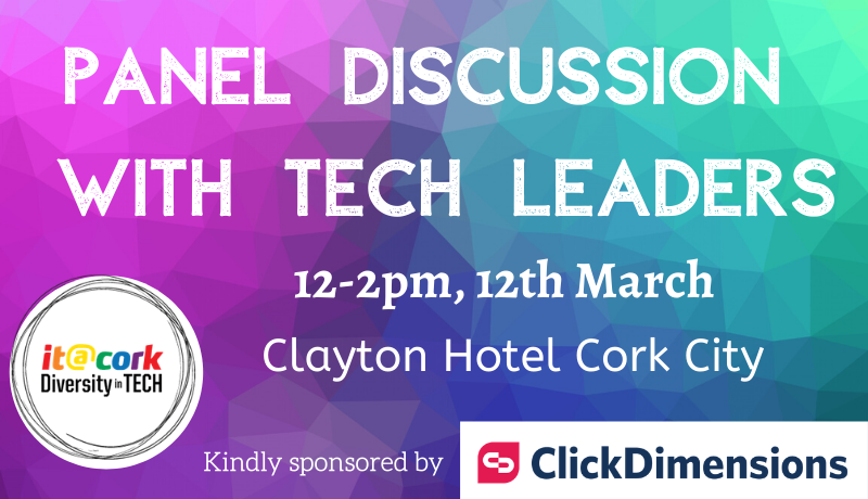 Diversity in Tech – Panel Discussion with leaders