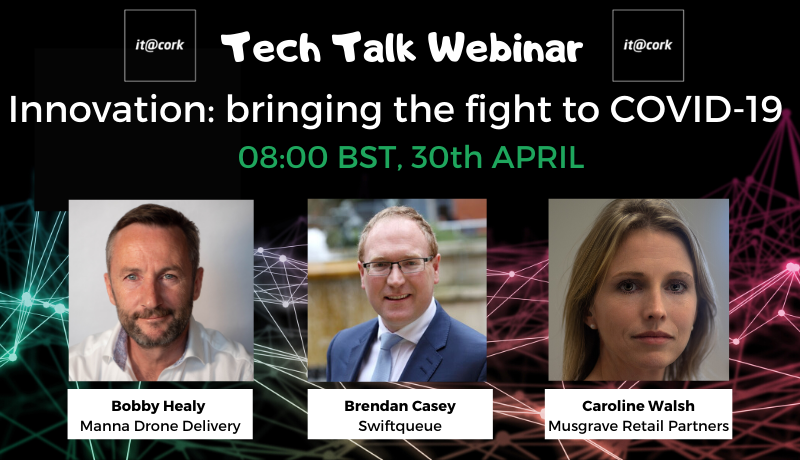 Tech Talk Webinar – Innovation: bringing the fight to COVID-19