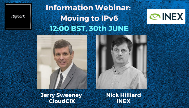 Information Webinar – Moving to IPv6