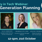 Diversity in Tech Webinar: Next Generation Planning