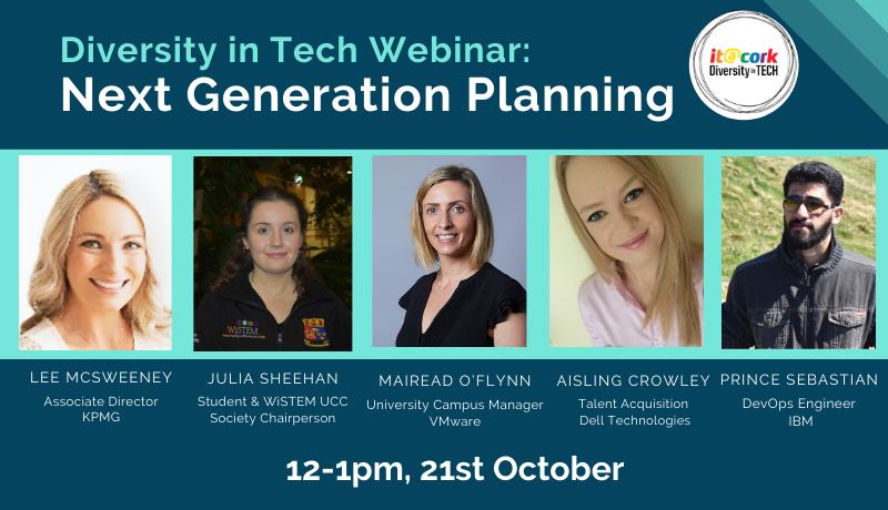 Diversity in Tech Webinar: Next Generation Planning