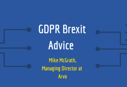 GDPR Brexit Advice