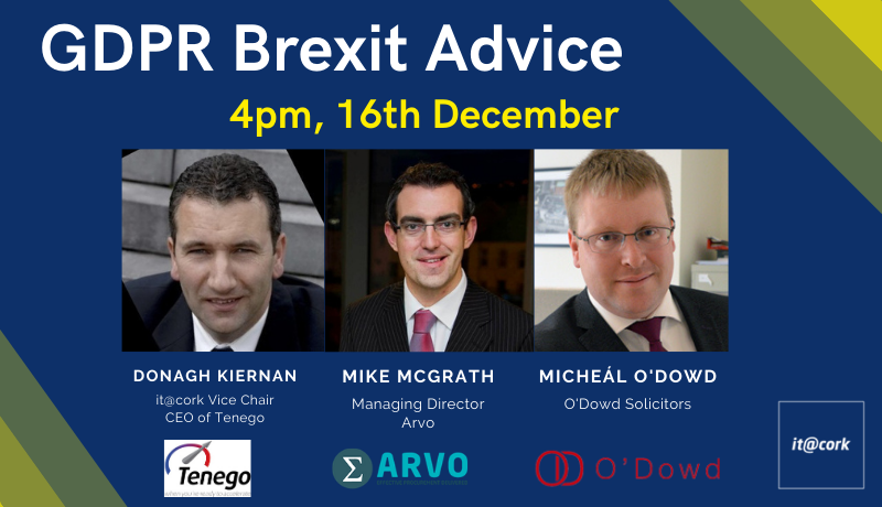 Webinar: GDPR Brexit Advice