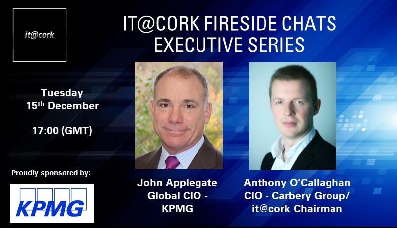 it@cork Fireside Chats Executive Series: John Applegate
