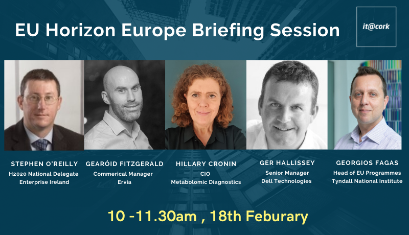 Webinar: EU Horizon Europe Briefing Session