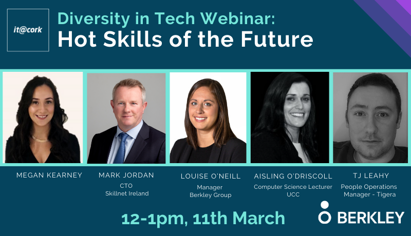 Diversity in Tech Webinar: Hot Skills of the Future